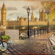 Набережная Лондона
