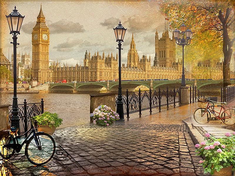 Набережная Лондона 1502