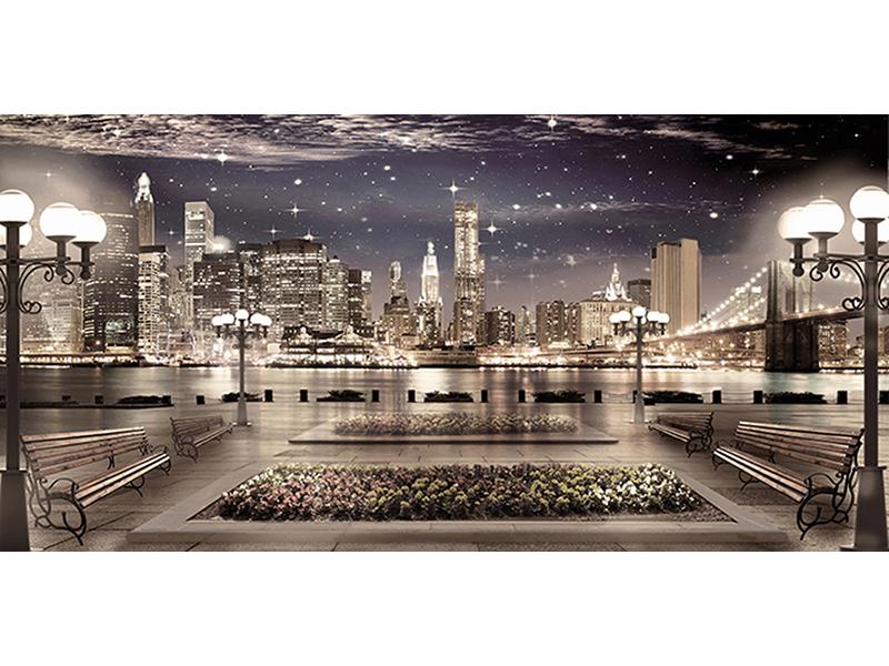 Набережная в Нью-Йорке 1503