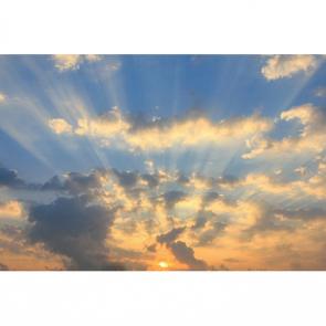 Закат над облаками