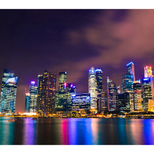 Ночь в Сингапуре