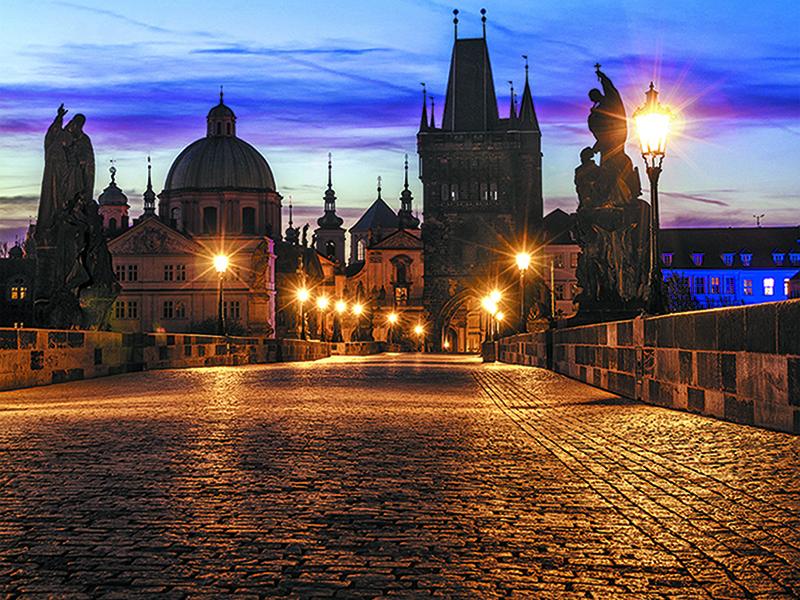 Ночная Прага 1467