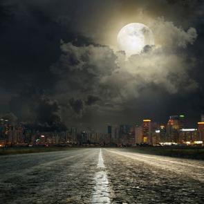 Ночной город 6419