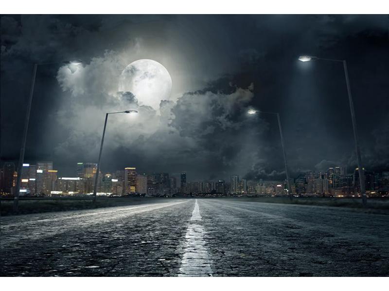 Ночной город 6420