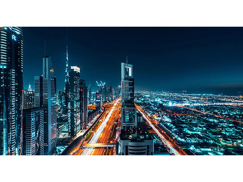Ночной Дубай 1458