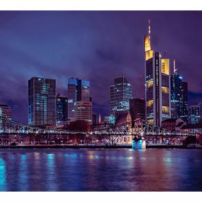 Ночной Франкфурта-на-Майне