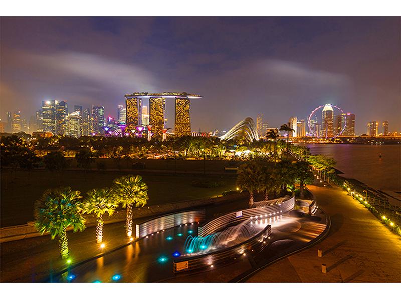 Ночной Сингапур 1454