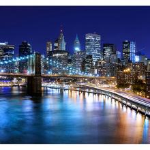 Ночные огни Нью-Йорка