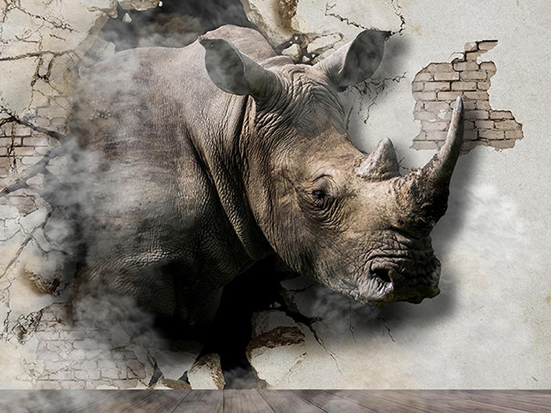 Носорог в стене 1479