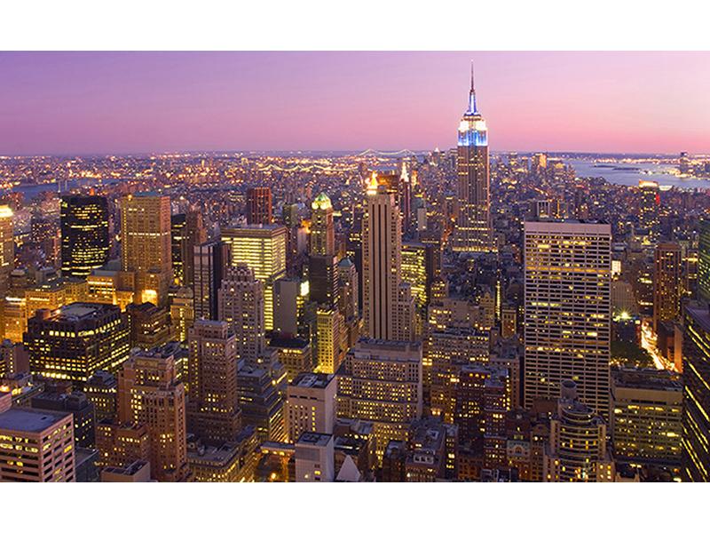 Нью-йорк в сумерках 1445