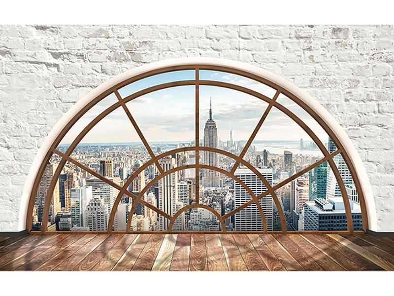 Окно в Нью-Йорк лофт 1411