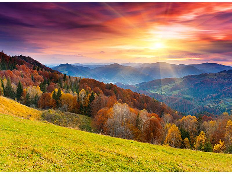 Осенний пейзаж 1394