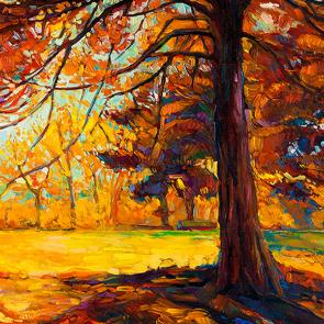 Осенняя живопись