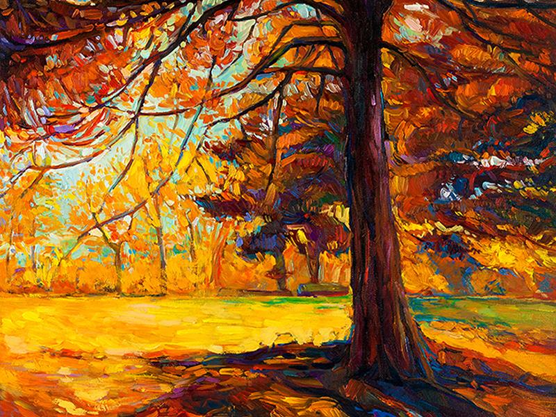 Осенняя живопись 1392