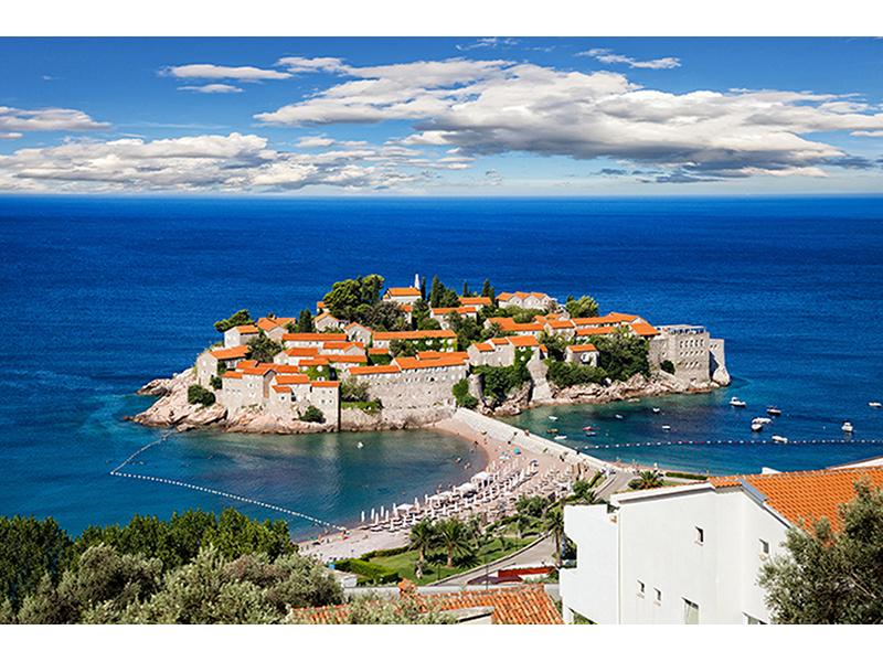 Остров Святого Стефана в Черногории 1386