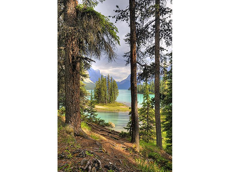 Остров на озере Малайн 1387