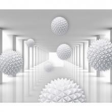 Острые шары в коридоре