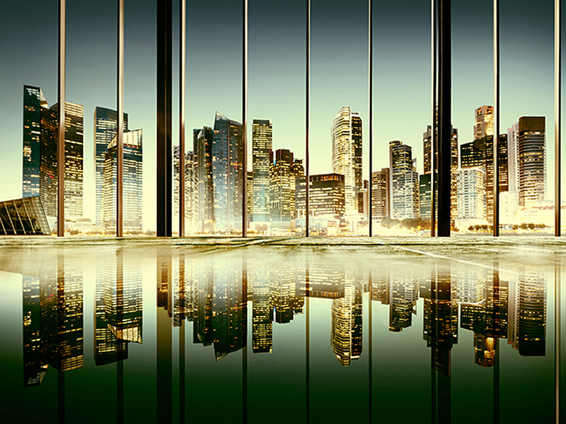 Отражение города 1372