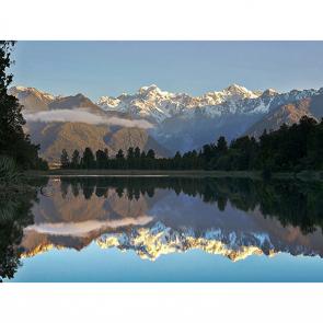 Озеро Матесон Новая Зеландия
