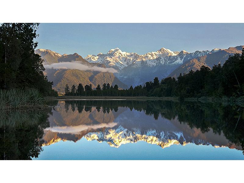 Озеро Матесон Новая Зеландия 1418