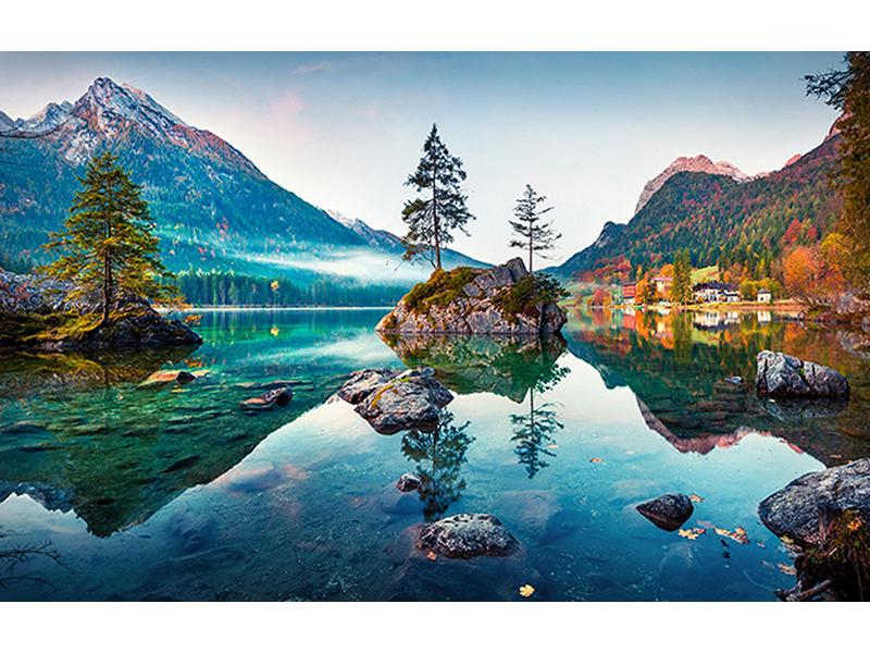 Озеро в Баварии 1429