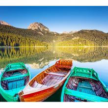 Озеро в Черногории