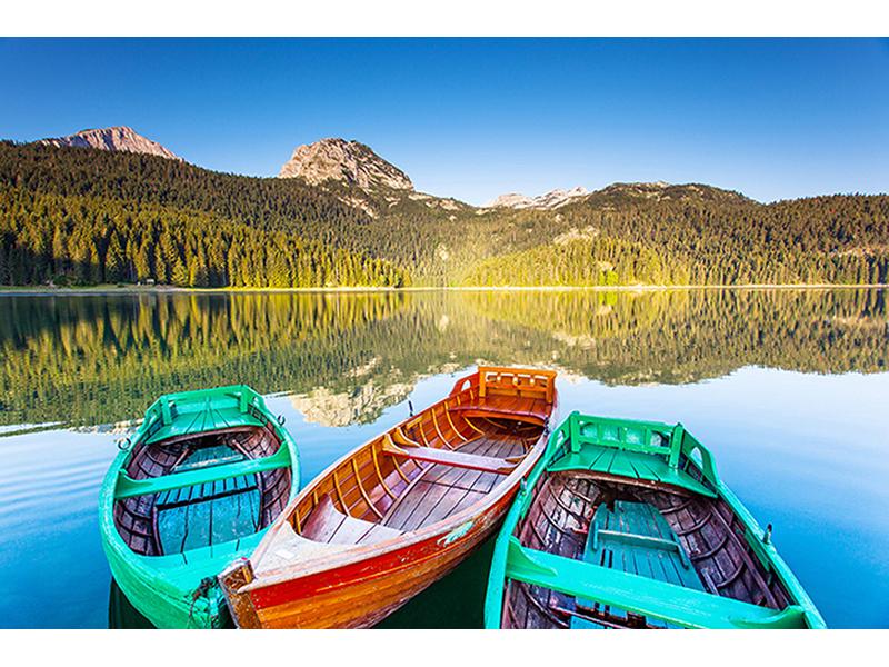 Озеро в Черногории 1424