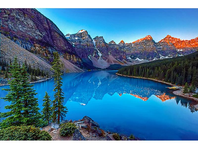 Озеро в горах 1428