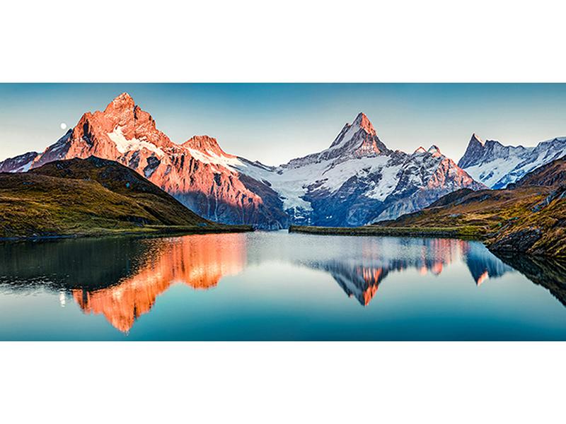 Озеро в Швейцарии 1423