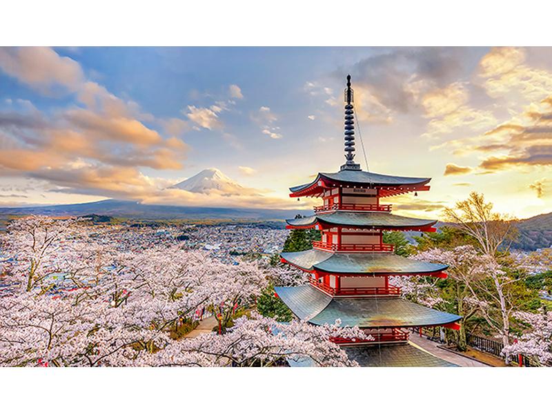 Пагода в Японии 1370