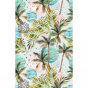 Акварельные пальмы