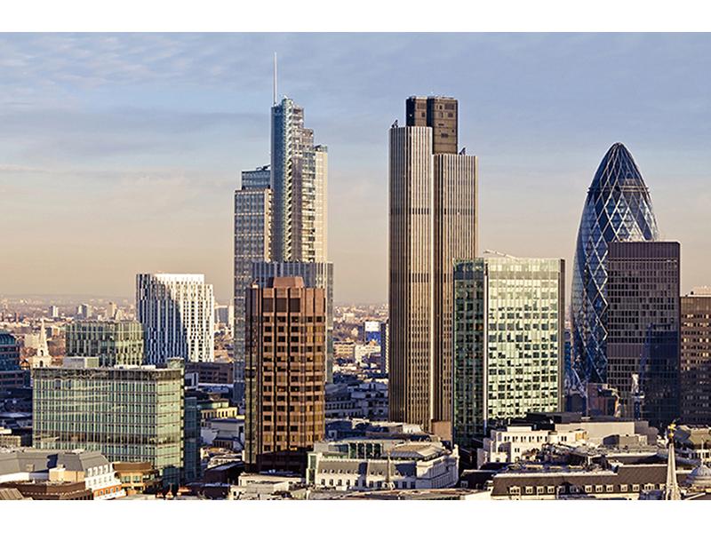 Панорама Лондона 1356