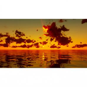 Панорама моря на закате