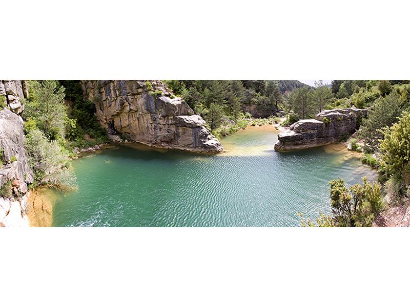 Панорама озера 1350