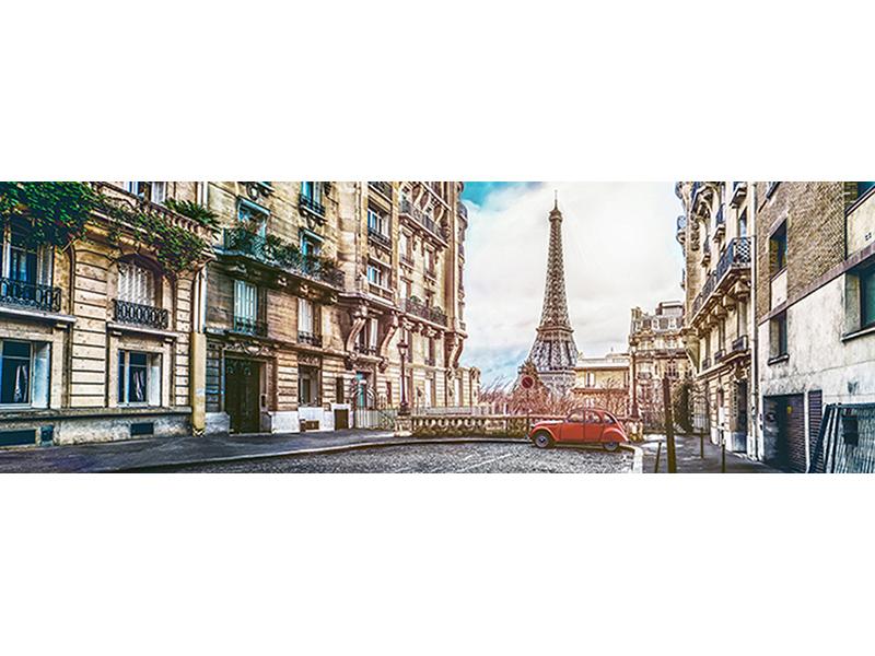Панорама Парижа 1349