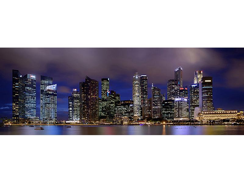 Панорама Сингапура 1347