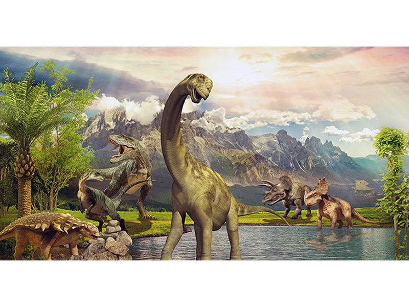Парк динозавров 2290