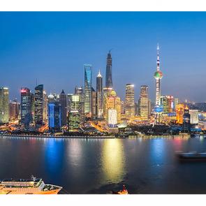 Пейзаж Шанхая