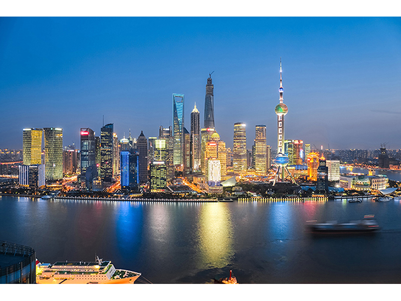 Пейзаж Шанхая 1308