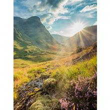Пейзаж в Шотландии