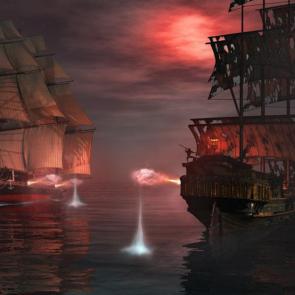 Пиратскиы корабл 07385