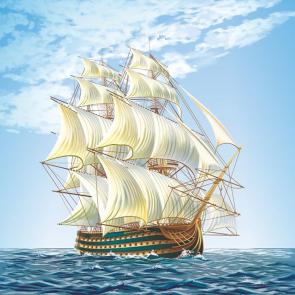 Пиратскиы корабл 07412