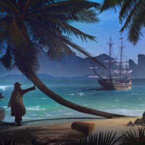 Пиратскиы корабл 13543