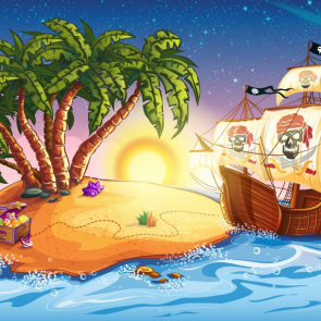 Пиратскиы корабл 14305