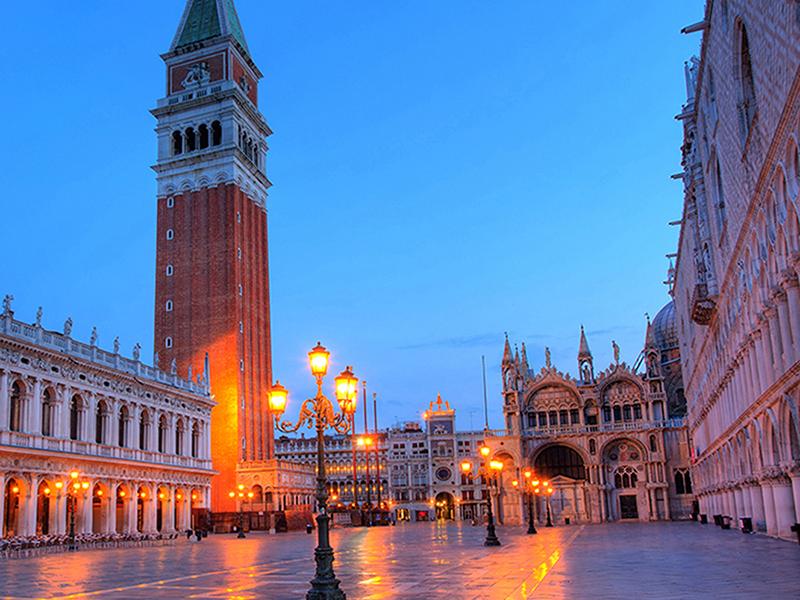 Площадь в Венеции 1301