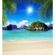 Пляж в тропиках