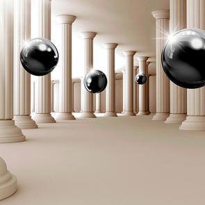Полет черных шаров