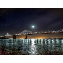 Полночь над заливом