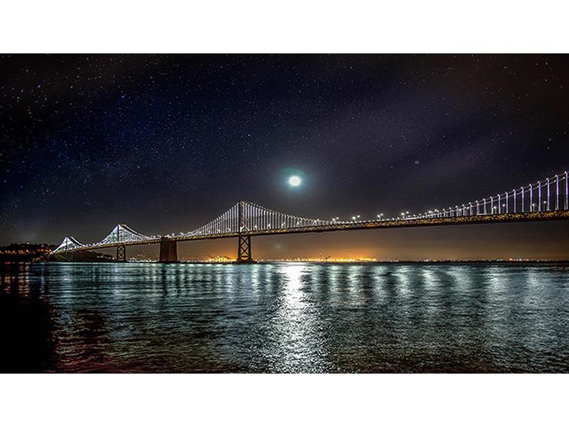 Полночь над заливом 1282