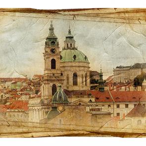 Прага в ретро стиле